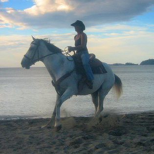 Riding the Beach